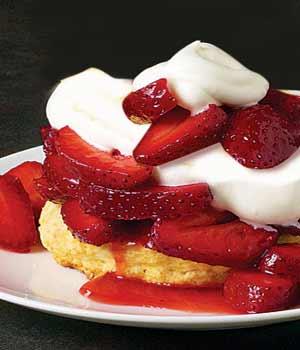Real Strawberry Shortcake