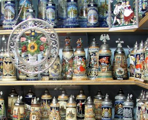 Oktoberfest beautiful steins