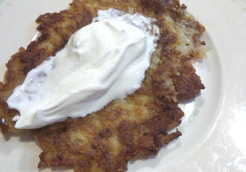 Oktoberfest Potato Pancakes